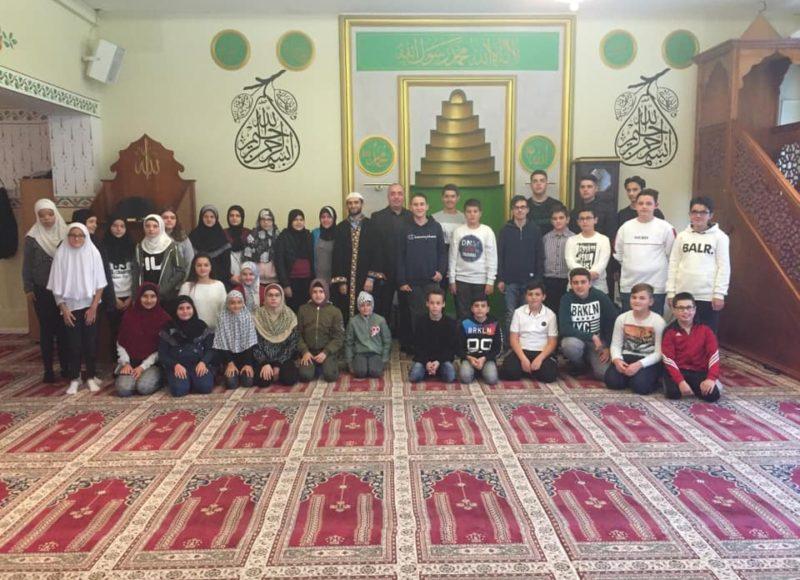 Seminar fetar me nxënësit në xhaminë e Regensdorfit