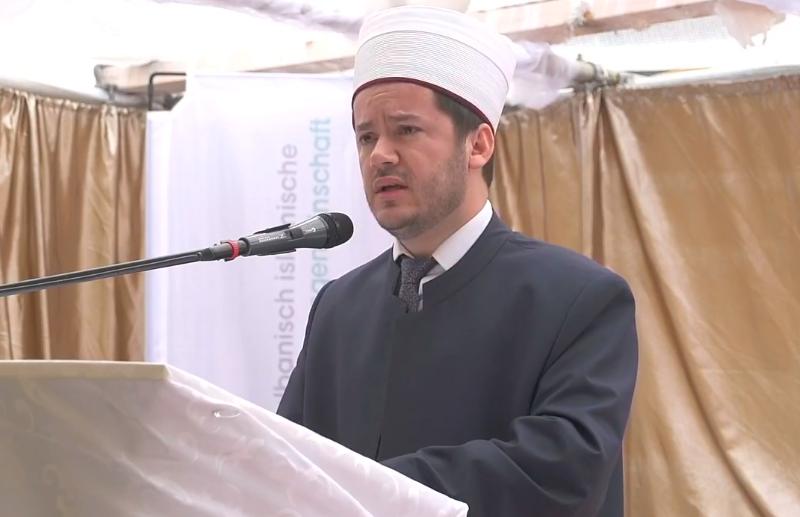 Fjalimi i kryetarit të UBISHZ-së me rastin e hapjes së xhamisë se re në Grenchen