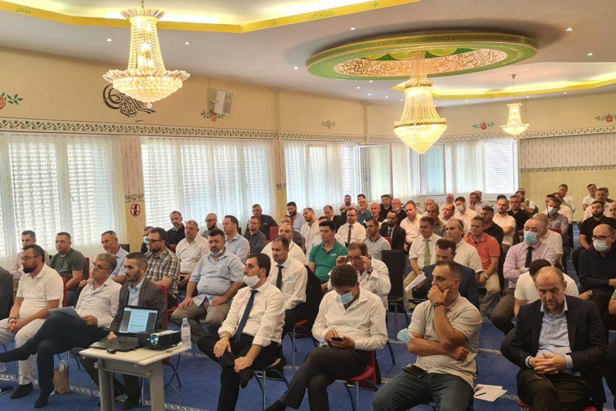 Me bashkimin e UBISHZ dhe BISHZ themelohet Komuniteti Musliman Shqiptar në Zvicër