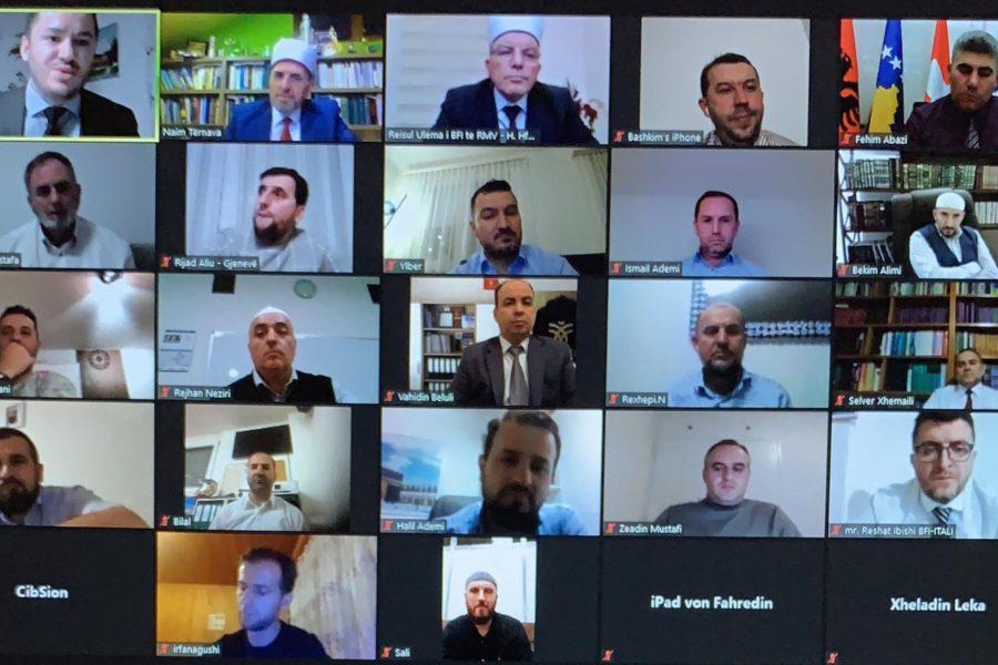Konferencë virtuale, organizuar nga Komuniteti Musliman Shqiptarë në Zvicër