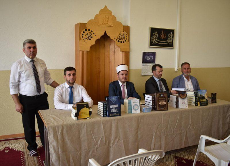 Aktivitet fetar dhe promovim libri në xhaminë shqiptare në Lozanë